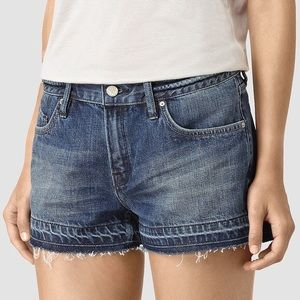 NEW All Saints Released Hem Kim Shorts - 29